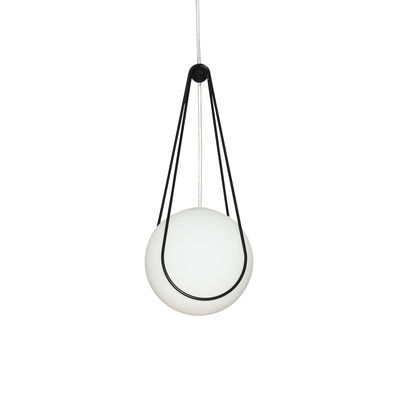 Leuchten - Pendelleuchten - Kosmos Halter / Zum Aufhängen Luna Small Ø 16 cm - Design House Stockholm - Ständer / Schwarz - Metall