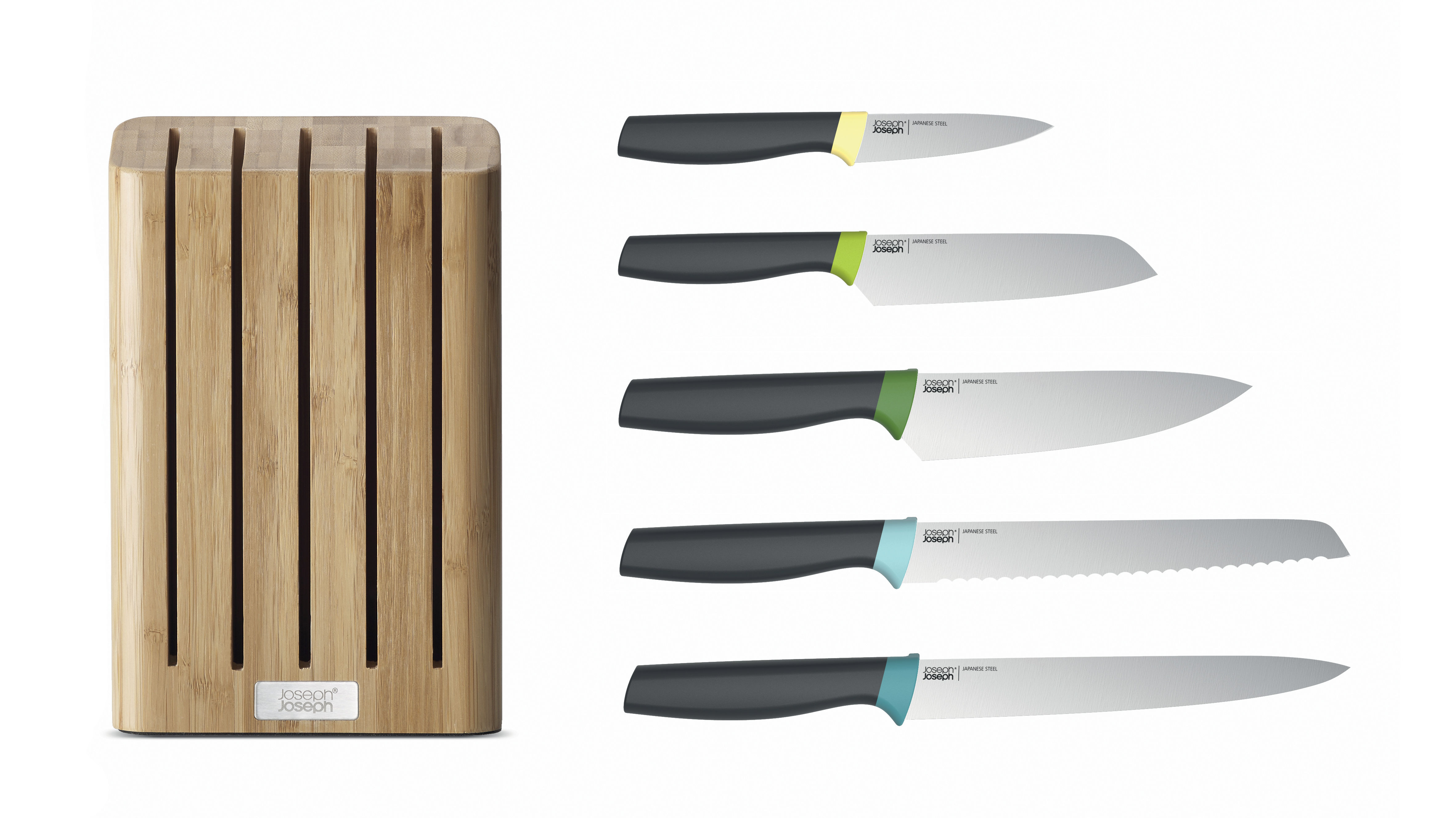Kitchen Knife Elevate By Joseph Joseph Natural Wood Made In