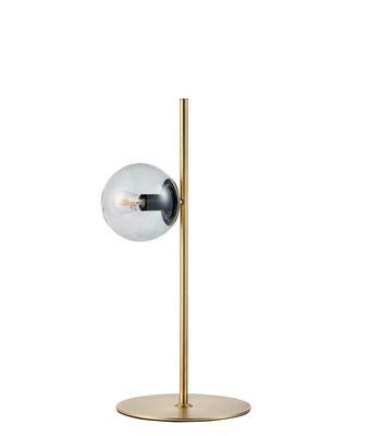 Image of Lampada da posa Orb - / Ottone - H 57 cm di Bolia - Oro/Trasparente - Metallo
