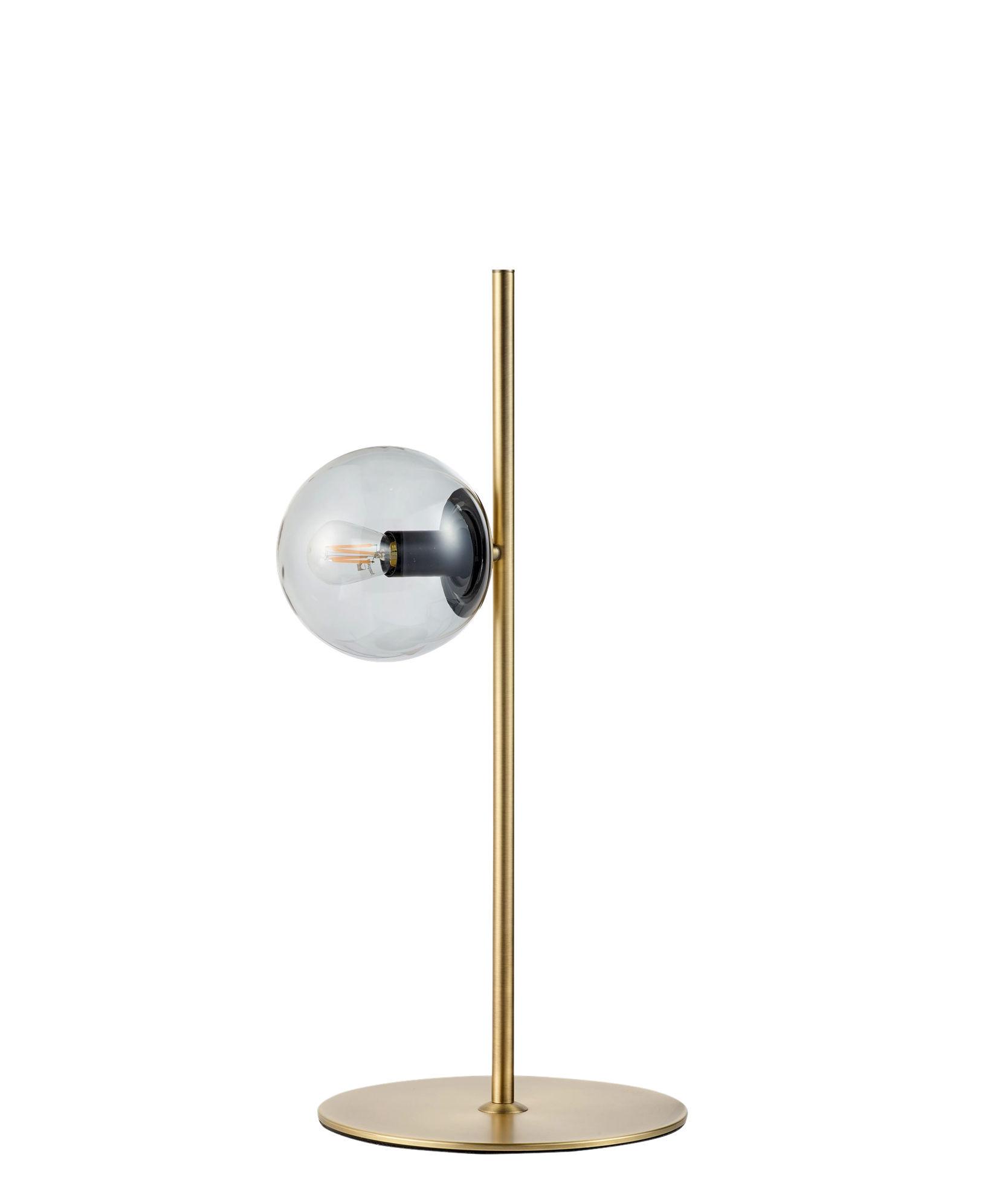 Illuminazione - Lampade da tavolo - Lampada da posa Orb - / Ottone - H 57 cm di Bolia - Ottone - Ottone