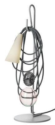 Lampe de table Filo / H 58 cm - Foscarini multicolore en métal
