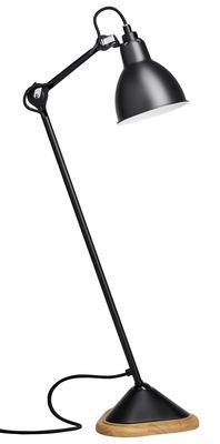 Lampe de table N°206 / Lampe Gras - DCW éditions bois,noir mat en métal