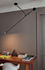 Aaro LED Pendant - / L 162 cm - Mobile arm by DCW éditions