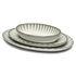 Piatto Inku - / Ovale Small - 25 x 17,5 cm di Serax