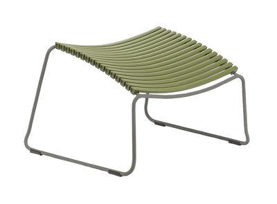 Arredamento - Poltrone design  - Poggiapiedi Click - Houe - Verde oliva - Metallo, Plastica