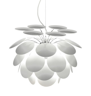 Luminaire - Suspensions - Suspension Discocó / Ø 35 cm - Marset - Blanc - ABS