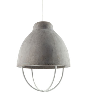 Suspension Feeling / Béton & métal - Serax gris en métal/pierre