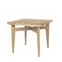 Table à rallonge B-Table / Réédition 1950 / Plateau transformable rond ou carré : 85 x 85 ou Ø 116 cm - Gubi