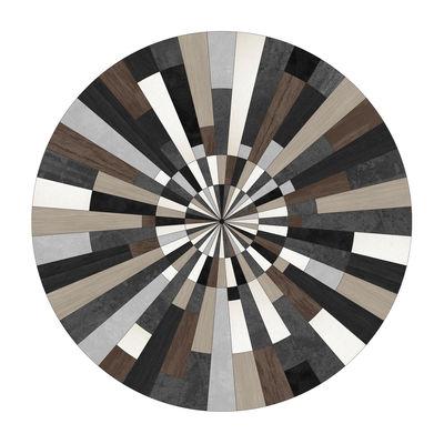 Tapis Fragments PÔDEVACHE - Marron/Gris/Noir/Beige | Made In Design