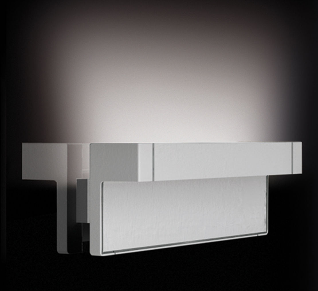 Lighting - Wall Lights - Any Wall light - LED by Luceplan - White - Painted aluminium, Polycarbonate