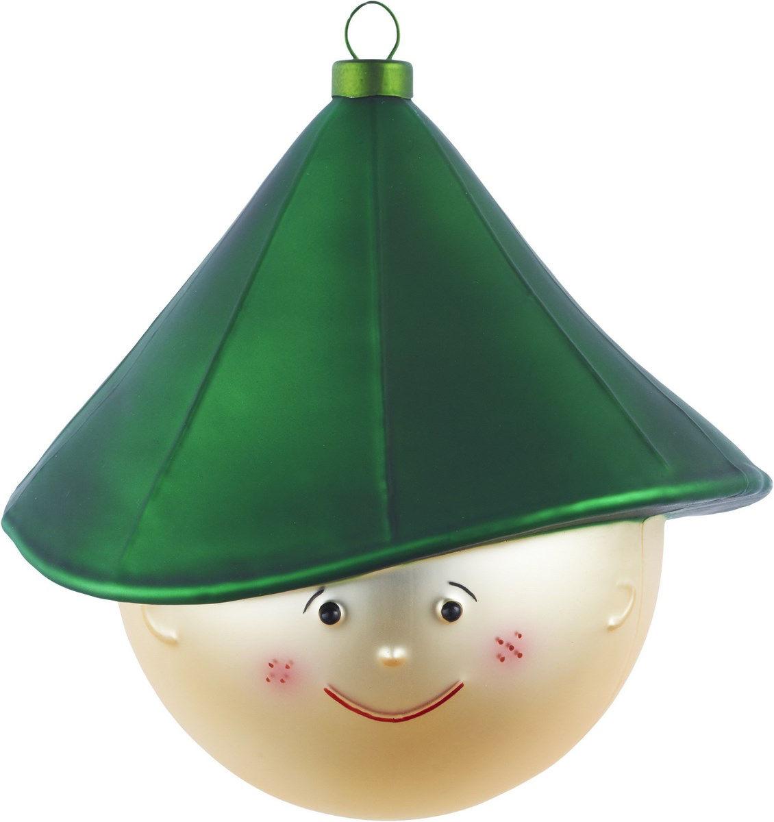 Dekoration - Dekorationsartikel - Pastorello Weihnachtskugel - A di Alessi - Grün / mehrfarbig - geblasenes Glas