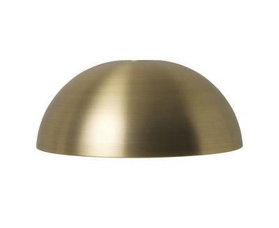 Abat-jour Dôme / Pour suspension Collect - Ferm Living laiton en métal