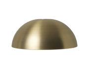 Abat-jour Dôme / Pour suspension Collect - Ø 38 cm x H 16 cm - Ferm Living laiton en métal
