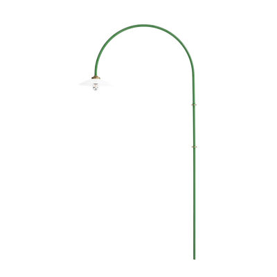 Illuminazione - Lampade da parete - Applique con presa Hanging Lamp n°2 - / H 235 x L 75 cm di valerie objects - Verde - Acciaio, Vetro