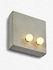 Applique Essentials n°2 - / Applique - Cemento - 25 x 25 cm di Serax
