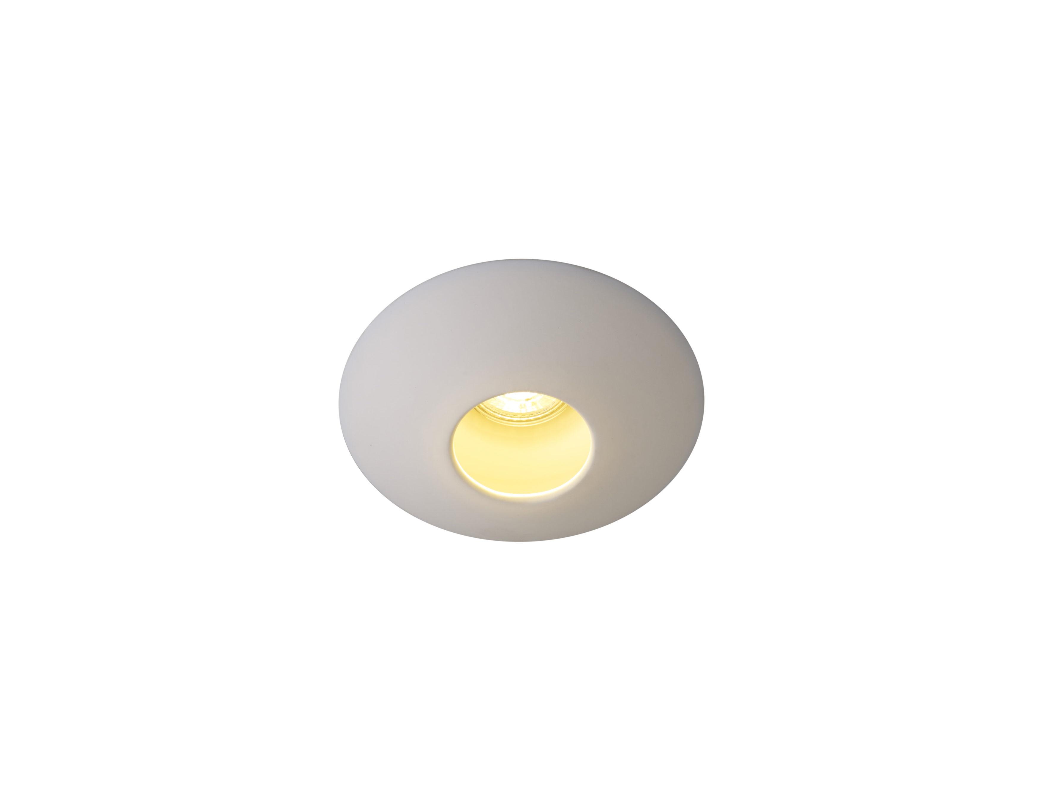Lighting - Ceiling Lights - Sopra Downlight Ceiling light - / Integrated spotlight Smooth porcelain by Original BTC - White - China