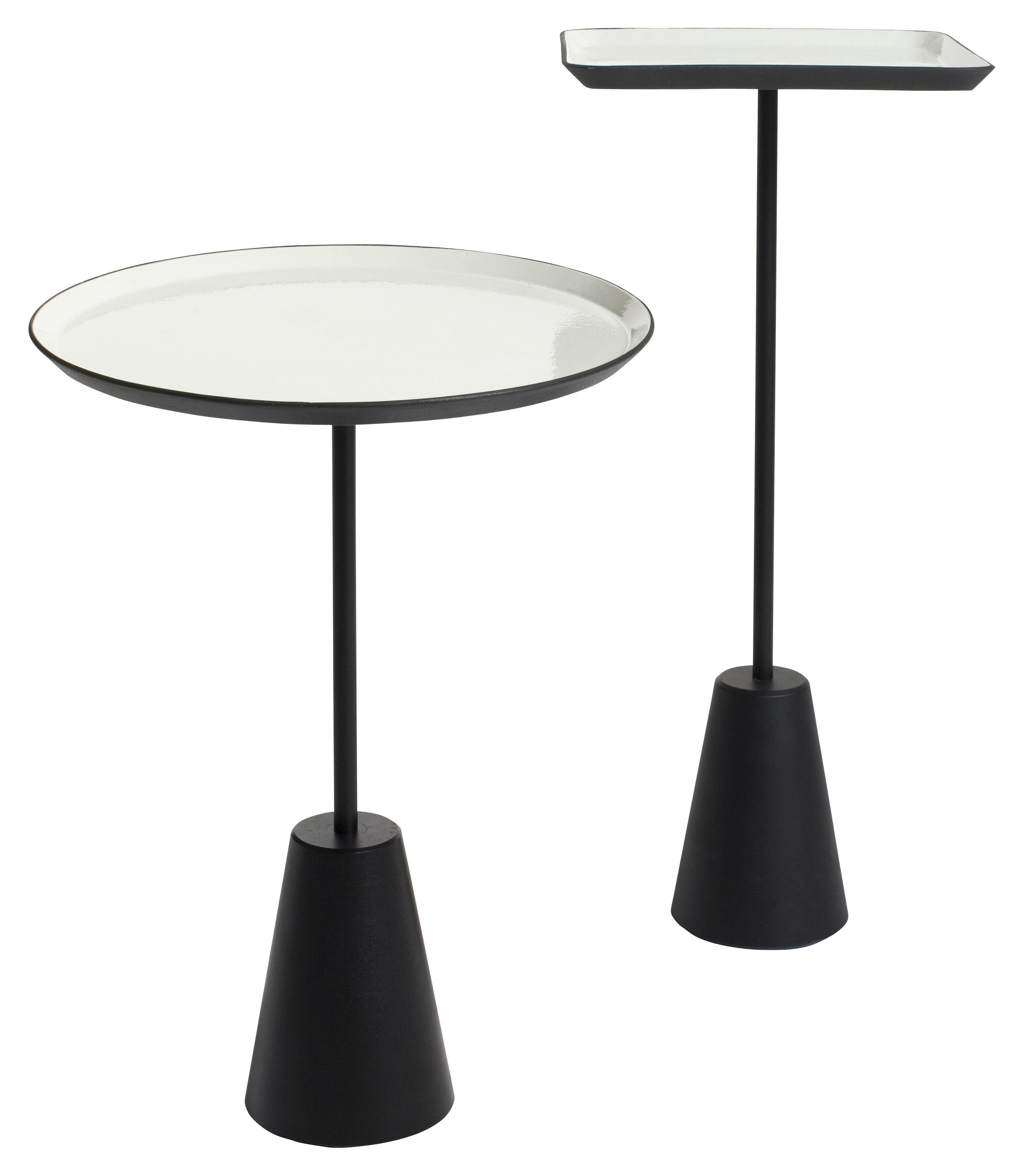 spot couchtisch tischplatte rund wei by tom dixon made in design. Black Bedroom Furniture Sets. Home Design Ideas