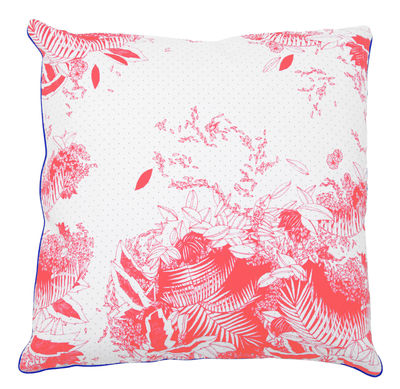Déco - Coussins - Coussin Moogli / 50 x 50 cm - Hartô - Corail - Coton, Polyester