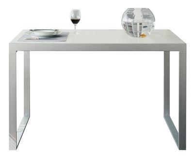 Maison et Objet - Minimalisme - Wow! Plus Extending table - L 140 / 220 cm by Horm - White - Lacquered steel, Laminate