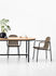 Wicked Oval table - / 200 x 90 cm - Teak by Vincent Sheppard