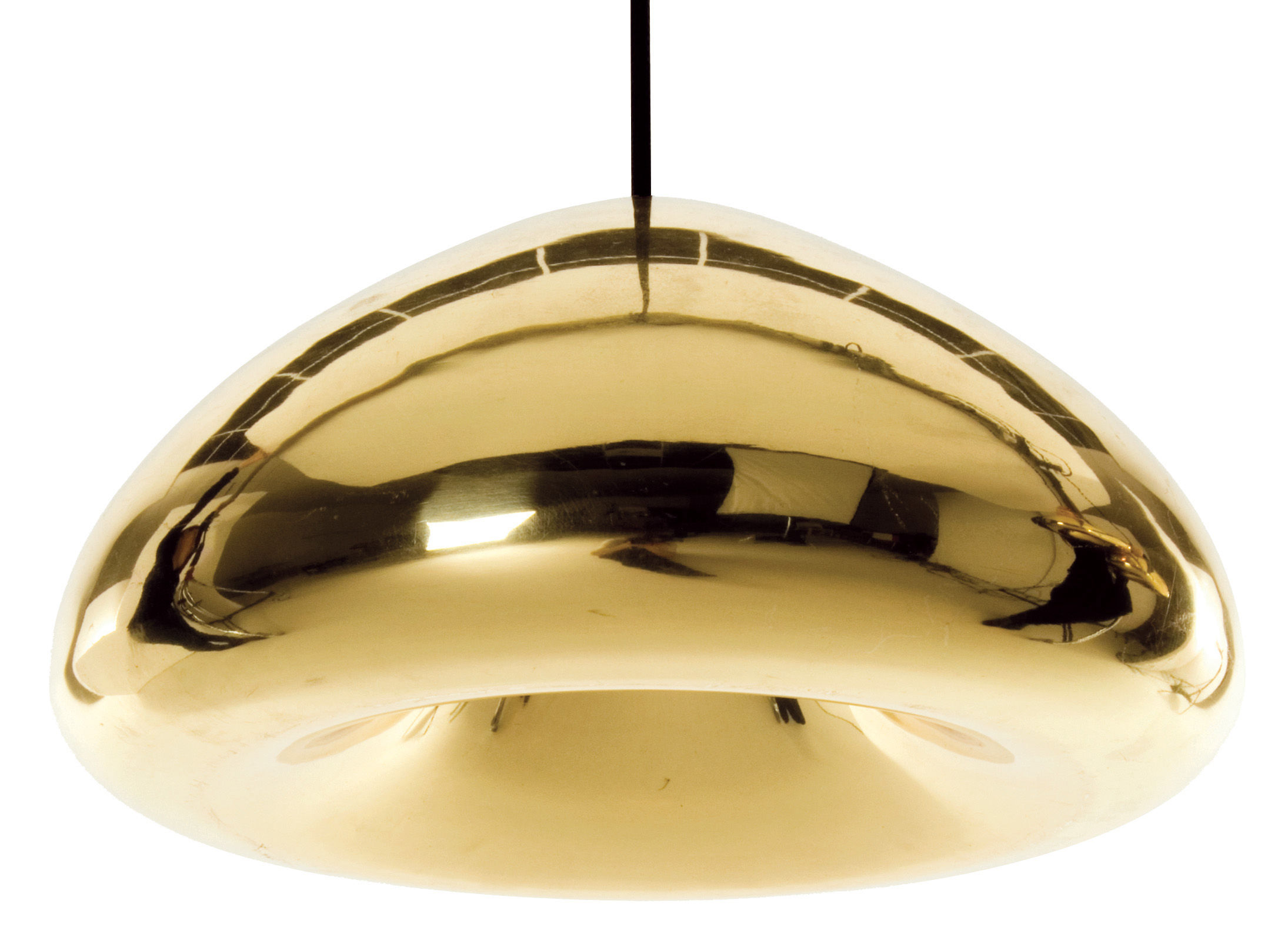 Lighting - Pendant Lighting - Void Pendant - Suspension by Tom Dixon - Brass - Brass