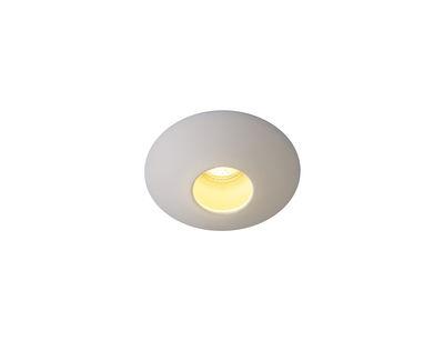 Illuminazione - Plafoniere - Plafoniera Sopra Downlight - / Spot ad incasso - Porcellana liscia di Original BTC - Bianco - Porcellana