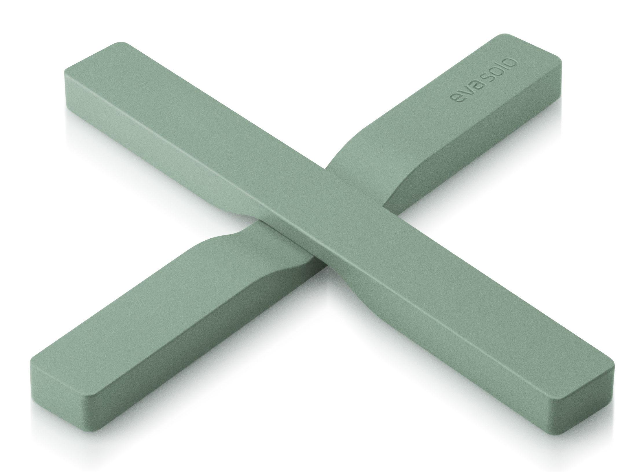 Tavola - Sottopiatti - Sottopentola magnetico - Eva Solo - Verde granito - Nylon, Silicone