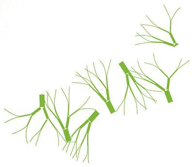 Déco - Stickers, papiers peints & posters - Sticker Arborescence Green - Domestic - Vert - Vinyle