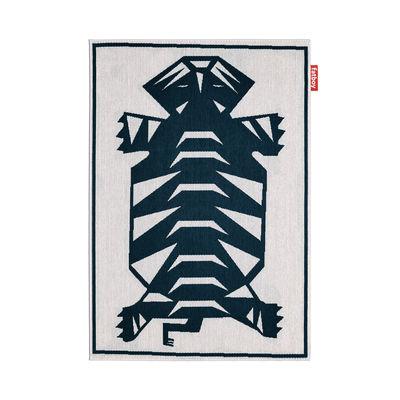 Déco - Tapis - Tapis d'extérieur Carpretty Nottazebroh / 160 x 230 cm - Polypropylène tissé - Fatboy - Bleu - Polypropylène tissé