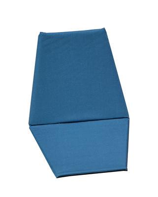 Chaise pliant Sego Tapis de sol Cacoon bleu en tissu