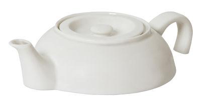 Tavola - Caffè - Teiera Tea For One - / 250 ml di droog - Bianco - Porcellana