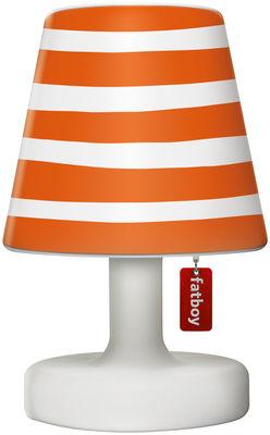 Abat-jour Cooper Cappie / Pour lampe Edison the Petit - Fatboy orange en matière plastique