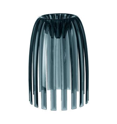 Abat-jour Josephine Small / Ø 22 x H 28 cm - Koziol anthracite transparent en matière plastique