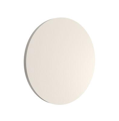 Luminaire - Appliques - Applique d'extérieur Camouflage LED / Ø 14 cm - Flos - Beige - Aluminium peinture poudre