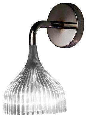 Luminaire - Appliques - Applique E' - Kartell - Cristal - Polycarbonate