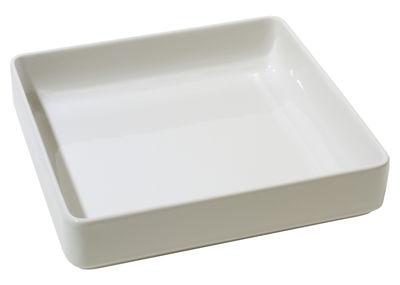 Tableware - Serving Plates - Programme 8 Baking dish by Alessi - White - Stoneware ceramic