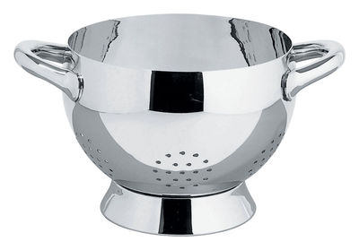 Kitchenware - Kitchen Equipment - Mami Colander by Alessi - Polished steel - Stainless steel