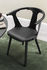 Fauteuil In Between SK2 / Noyer & assise cuir - &tradition