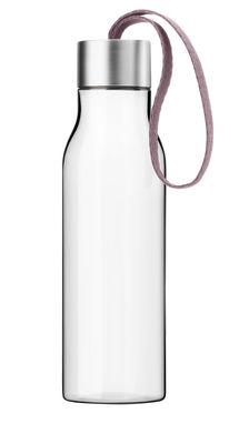 Arts de la table - Carafes et décanteurs - Gourde Small 0,5 L / Bouteille nomade plastique écologique - Eva Solo - Rose nordique - Plastique écologique