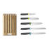 Elevate Kitchen knife - / Set of 5 knives + bamboo stand by Joseph Joseph