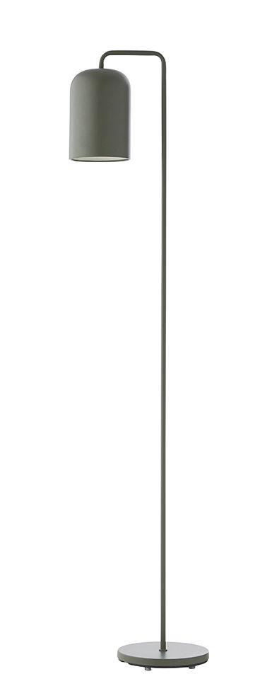 Illuminazione - Lampade da terra - Lampada a stelo Chill - / H 145 cm di Frandsen - Verde - metallo verniciato