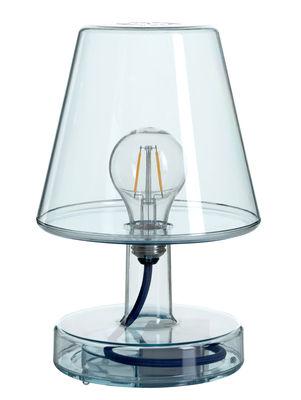 lampe ohne kabel transloetje von fatboy blau made in. Black Bedroom Furniture Sets. Home Design Ideas