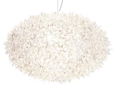 Lighting - Pendant Lighting - Bloom Bouquet Pendant - Round - Large - Ø 53 x H 35 cm by Kartell - Crystal - Polycarbonate