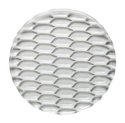 Plat de service Jellies Family / Ø 33 cm - Kartell cristal en matière plastique