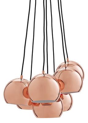 Illuminazione - Lampadari - Sospensione Ball - / Set da 7 - Esclusiva di Frandsen - Rame - Metallo