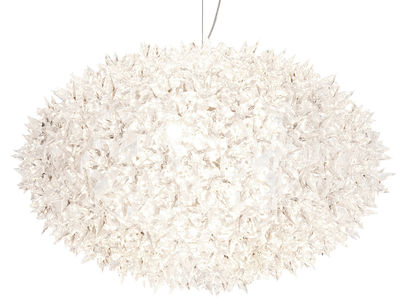 Illuminazione - Lampadari - Sospensione Bloom Bouquet - Bouquet rond - Large - Ø 53 cm x H 35 cm di Kartell - Cristallo - policarbonato