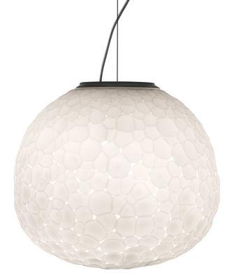 Luminaire - Suspensions - Suspension Meteorite / Ø 35 cm - Artemide - Ø 35 cm / Blanc - Verre soufflé