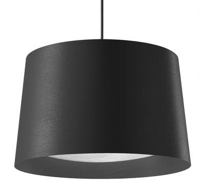 Suspension Twiggy Large / Ø 46 x H 29 cm - Foscarini noir en matière plastique