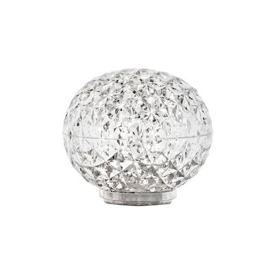 Lighting - Table Lamps - Mini Planet Table lamp - / LED - Ø 16 x H 14 cm by Kartell - Crystal - PMMA