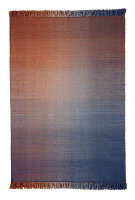 Shade palette 2 Teppich / 170 x 240 cm - Nanimarquina - Blau,Orange